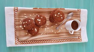 Biscotti Anzac con fiocchi di avena e cocco