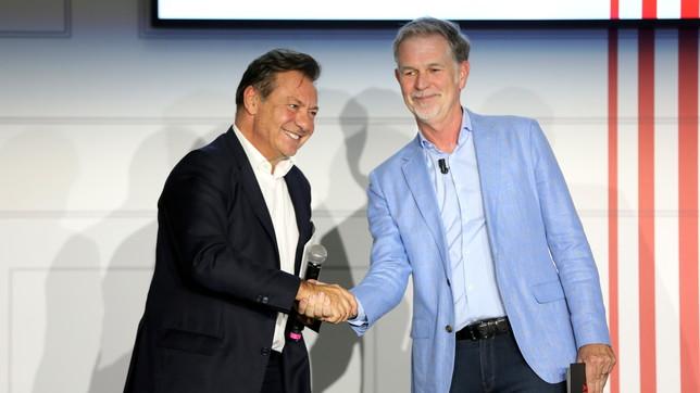 Mediaset e Netflix insieme, ecco le foto della conferenza stampa