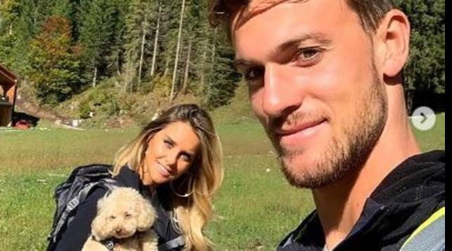 Michela Persico scala le montagne con Daniele Rugani