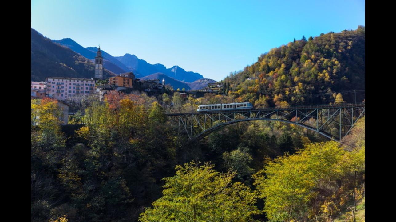 Piemonte, tutti a bordo del Treno del Foliage