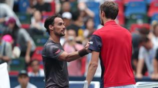 Tennis, Masters 1000 Shanghai: Berrettini batte Thiem e vola in semifinale