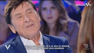 """""""Verissimo"""", Gianni Morandi: """"Io e la mia ex moglie abbiamo perso una bambina"""""""