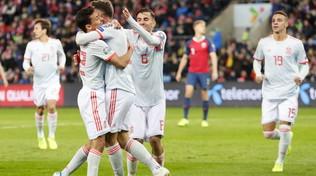 Spagna da record: per la prima volta in campo giocatori di 11 club diversi
