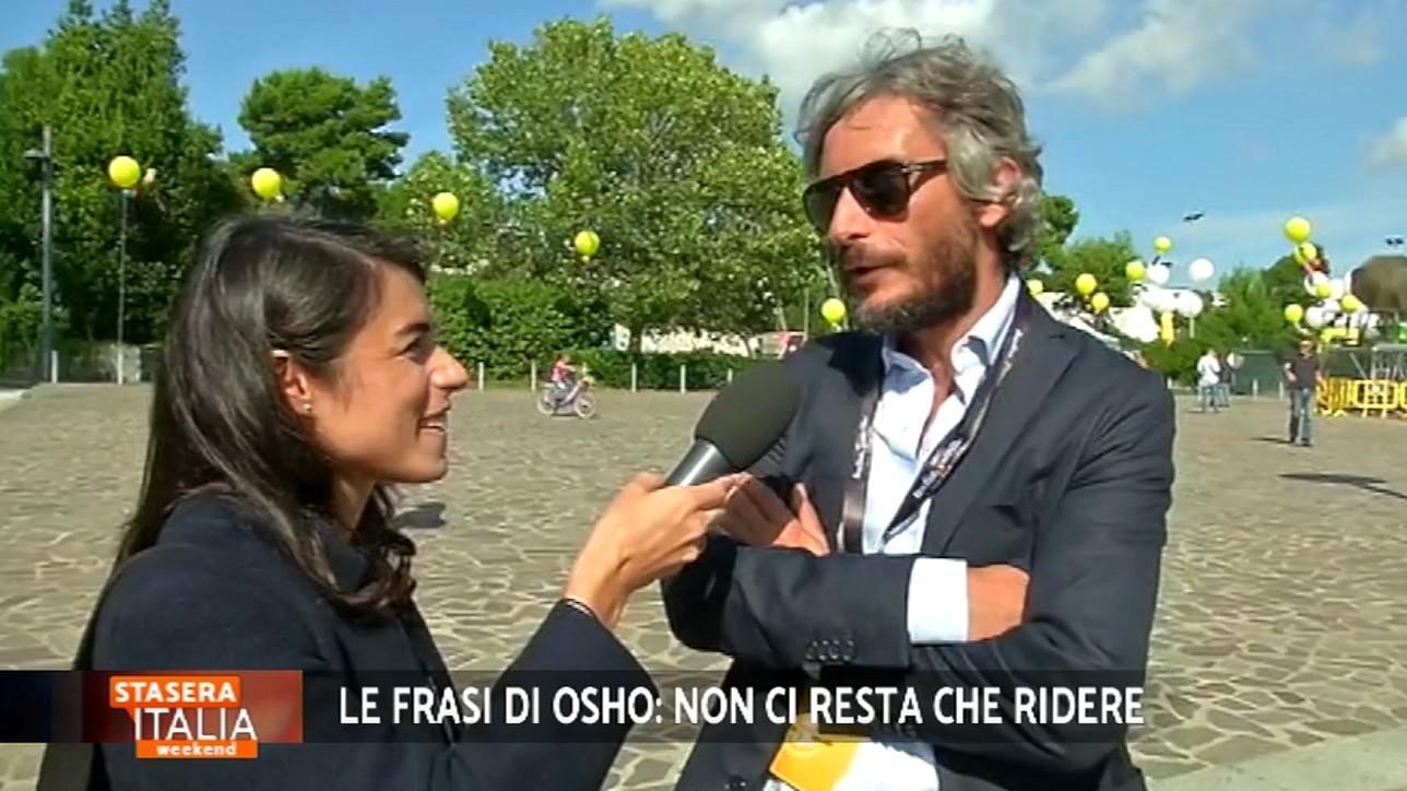 Le Frasi Di Osho Federico Palmaroli A Stasera Italia Mi