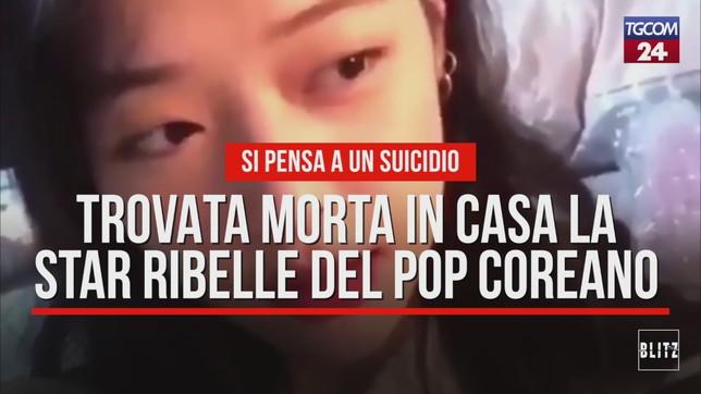 Trovata morta in casa la star ribelle del pop coreano