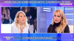 """Simona Tagli e il voto di castità: """"Ho sublimato il concetto d'amore"""""""