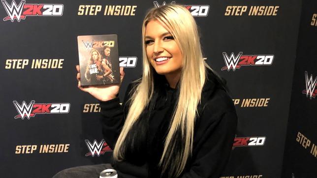 La wrestler Toni Storm per la prima volta inWWE 2K20: