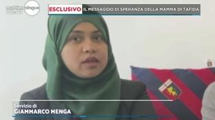 """Da Londra a Genova per curarsi, la mamma di Tafida: """"L'esempio di mia figlia serva ad altri"""""""