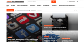 Diritto dell'informazione, ecco il nuovo portale contro le fake news