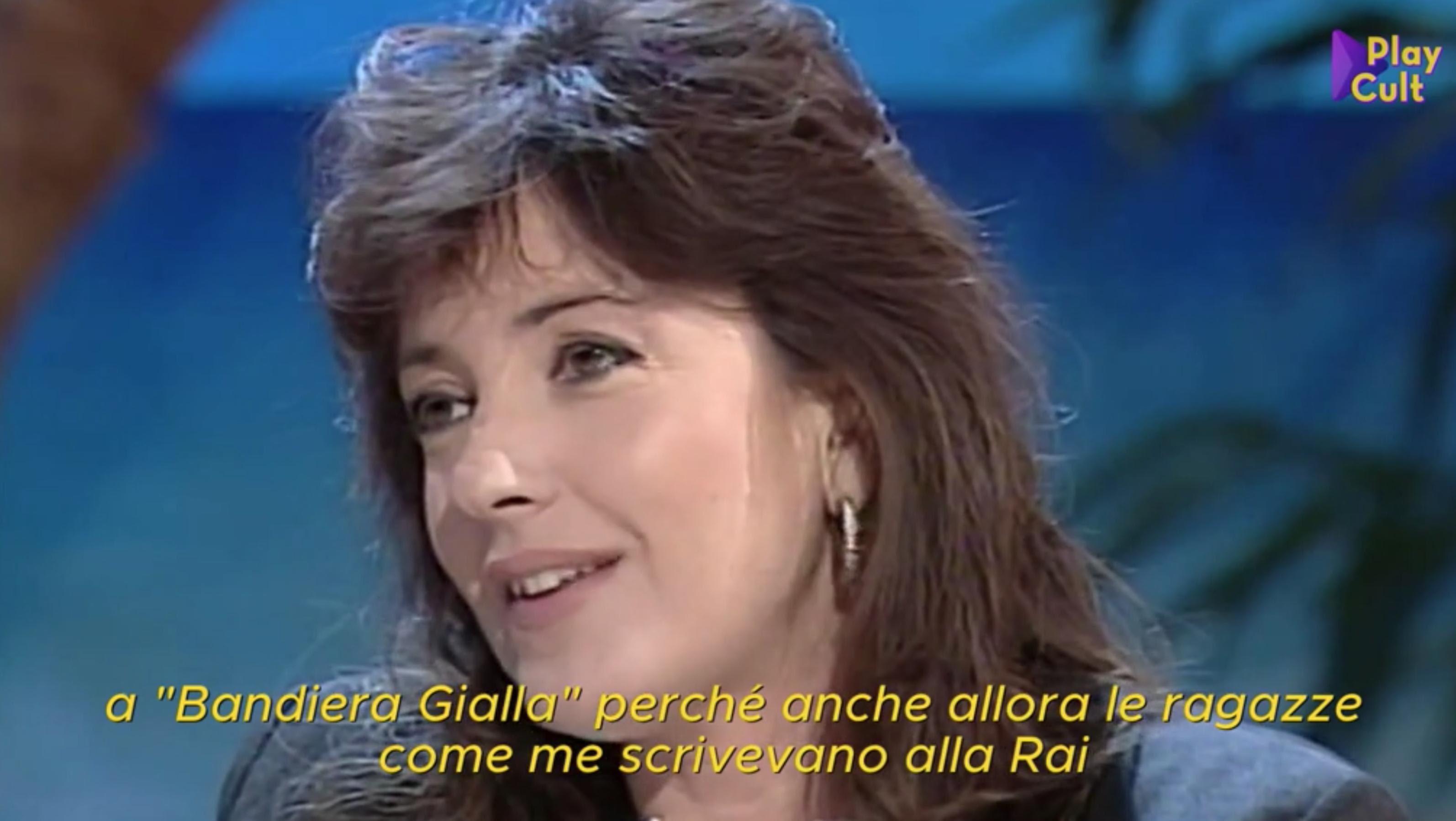 Barbara Palombelli Compie 66 Anni Eccola A Non E La Rai Nel 1994 Tgcom24