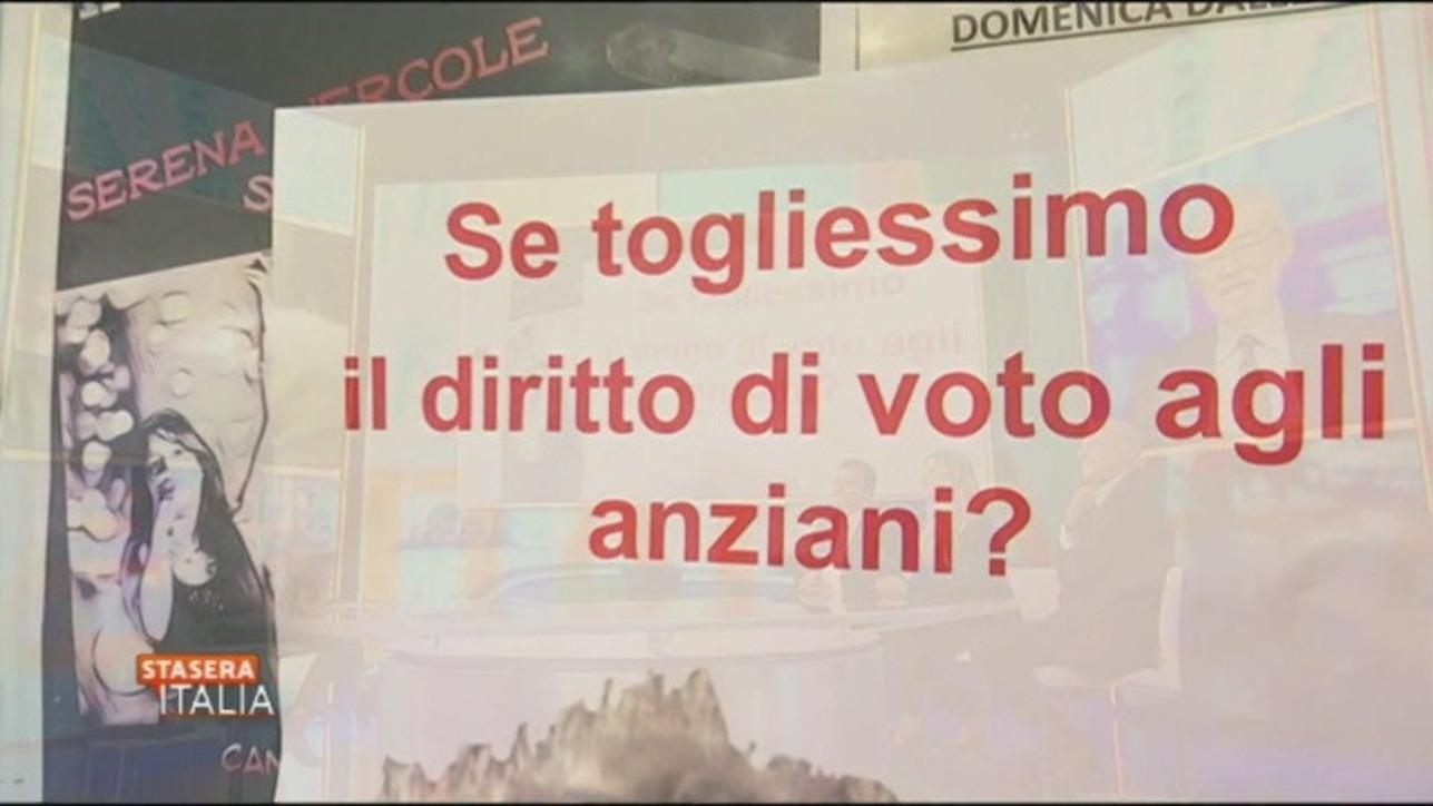 """Voto, la rivolta degli anziani: """"E se togliessimo Grillo?"""""""
