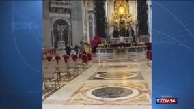 Roma, folle urla a San Pietro: preso