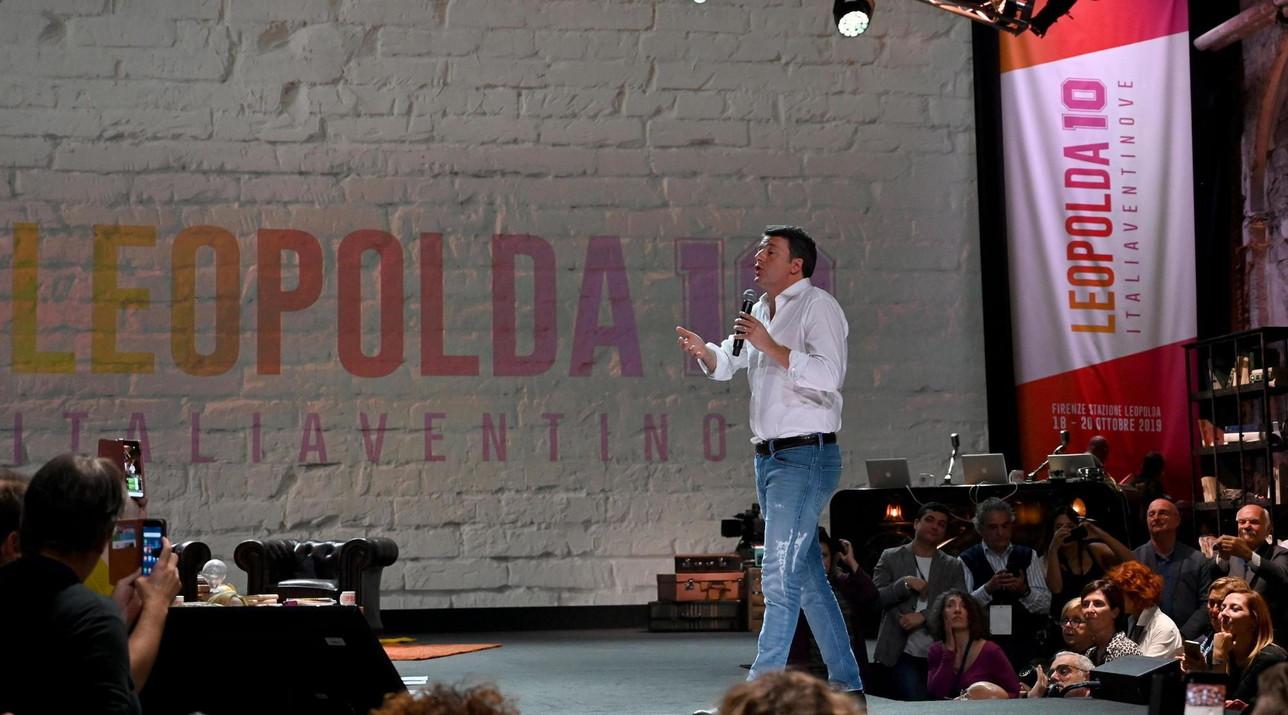 Matteo Renzi apre i lavori della Leopolda 10