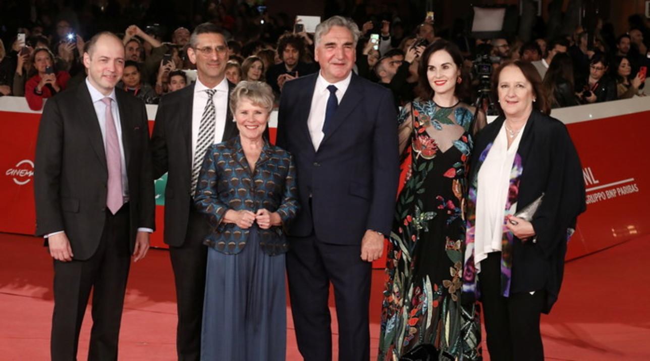 """Alla Festa del cinema di Roma sfilano sul red carpet le stelle di """"Downton Abbey"""""""
