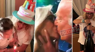 Mara Venier si scatena alla sua festa di compleanno