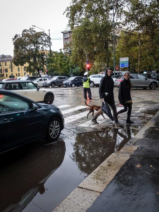Milano, nubifragio investe la città: disagi