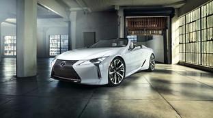 Lexus LC Convertibile e RC F Track Edition