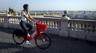 Jump, il bike sharing di Uber sbarca a Roma