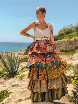 Alexandra Andries. Capi dallo stile African-European 100% artigianali