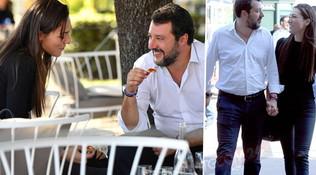 Aperitivo romano per Matteo Salvini e Francesca Verdini