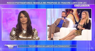 Lory Del Santo difende in tv l'ex Rocco: