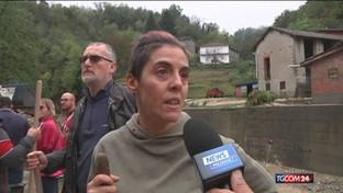 Maltempo in Liguria e Piemonte, notte di paura