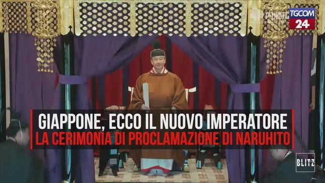 Giappone, ecco Naruhito: il nuovo imperatore