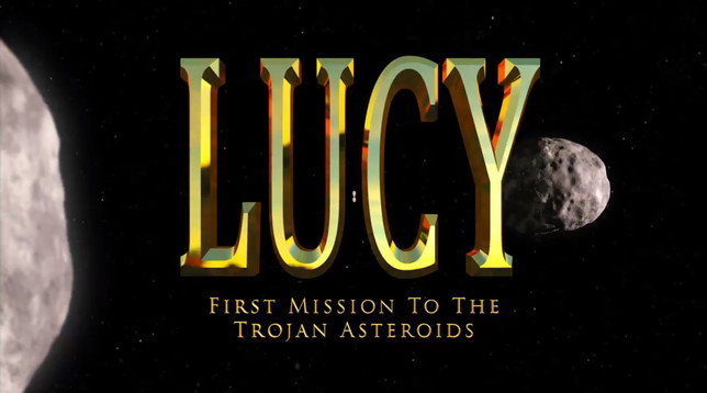 La Nasa presenta Lucy, la missione spaziale che esploreràgli asteroidi fossili intorno a Giove