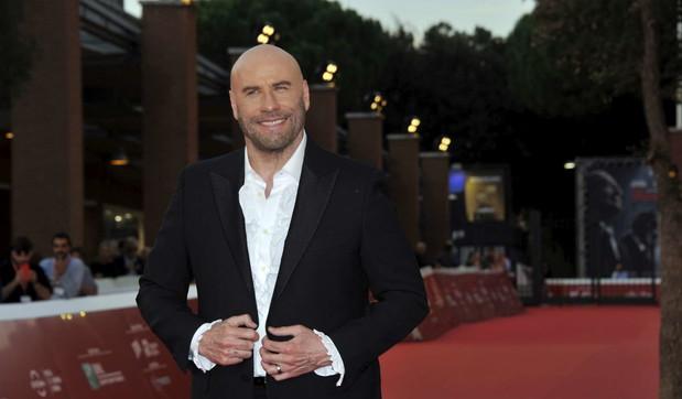 John Travolta sul red carpet della Festa del cinema di Roma
