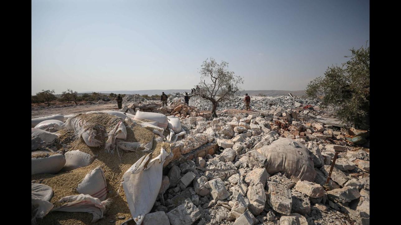 Al Baghdadi, Usa hanno raso al suolo il suo quartier generale