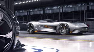 Jaguar Vision, le foto del prototipo esclusivo per Gran Turismo Sport