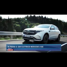 In prova il suv elettrico Mercedes EQC