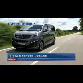 In prova la nuova Opel Zafira Life