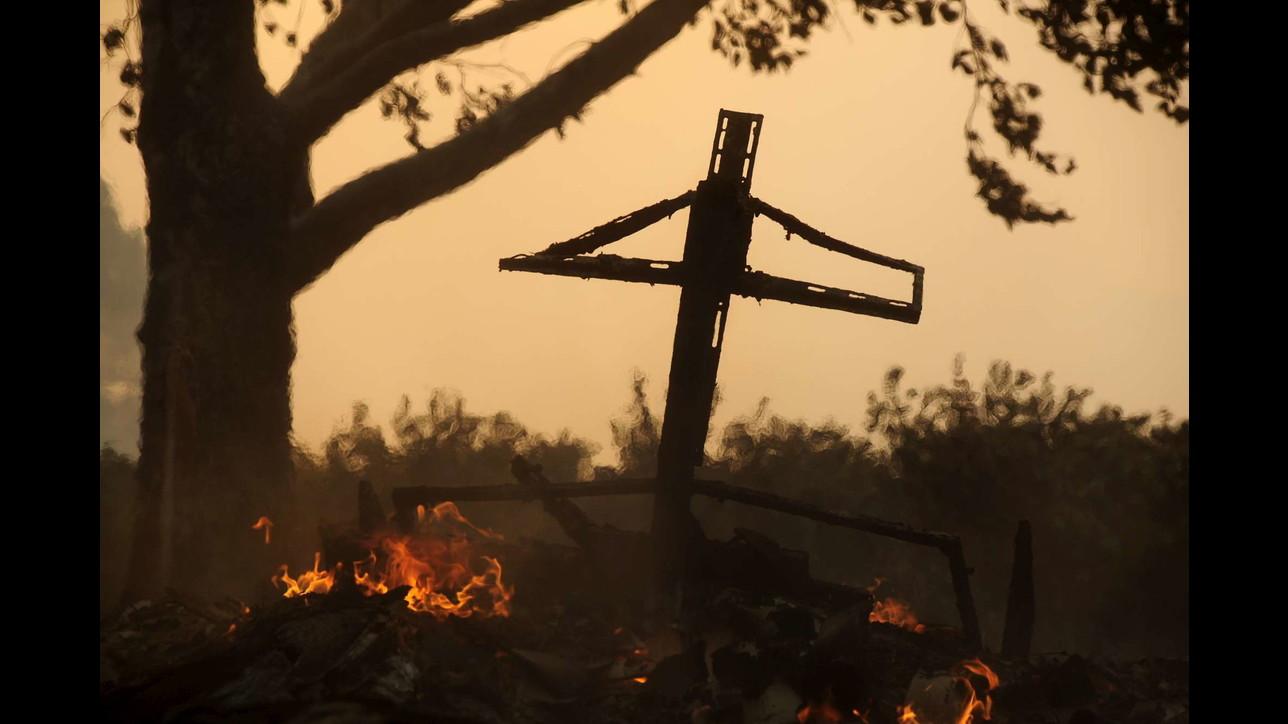 California in ginocchio per gli incendi