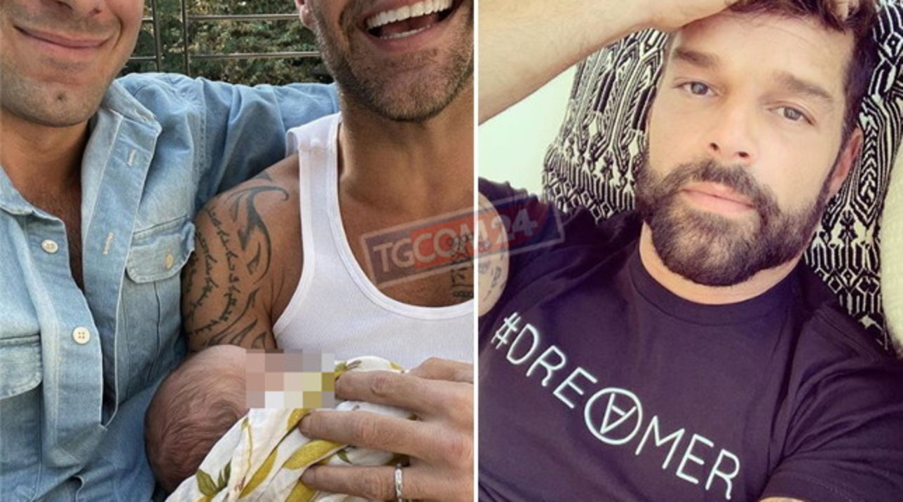 Ricky Martin papà per la quarta volta, è nato Renn