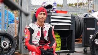 Moto, tragedia a Sepang: morto il 20enne indonesiano Munandar