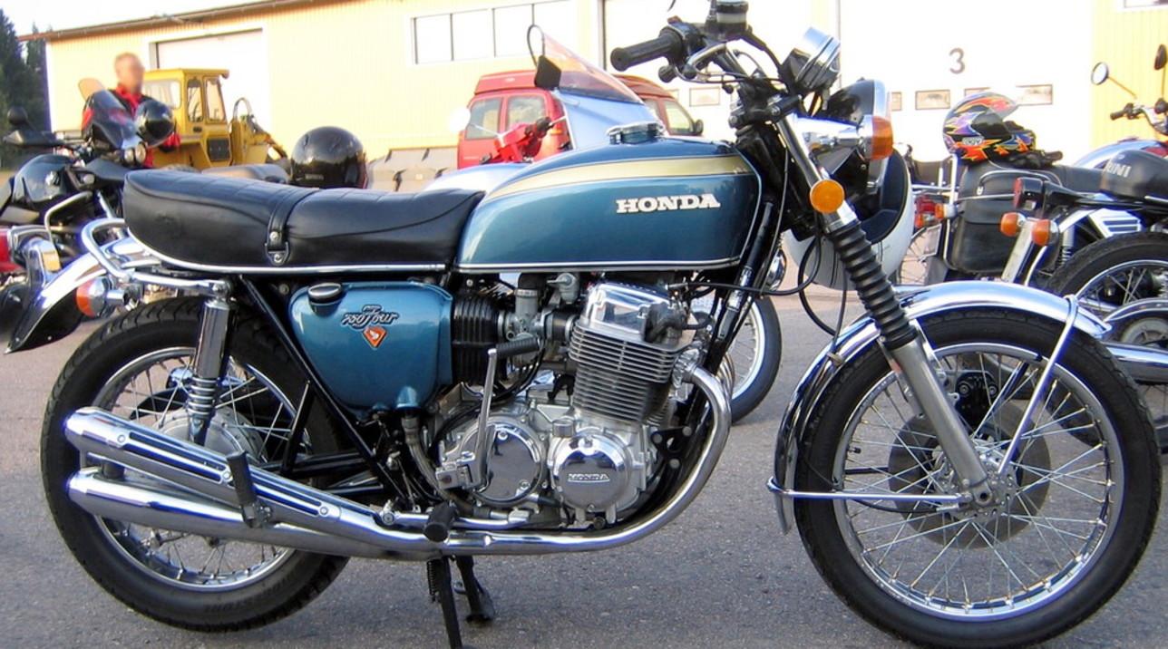 I 50 anni della Honda CB 750