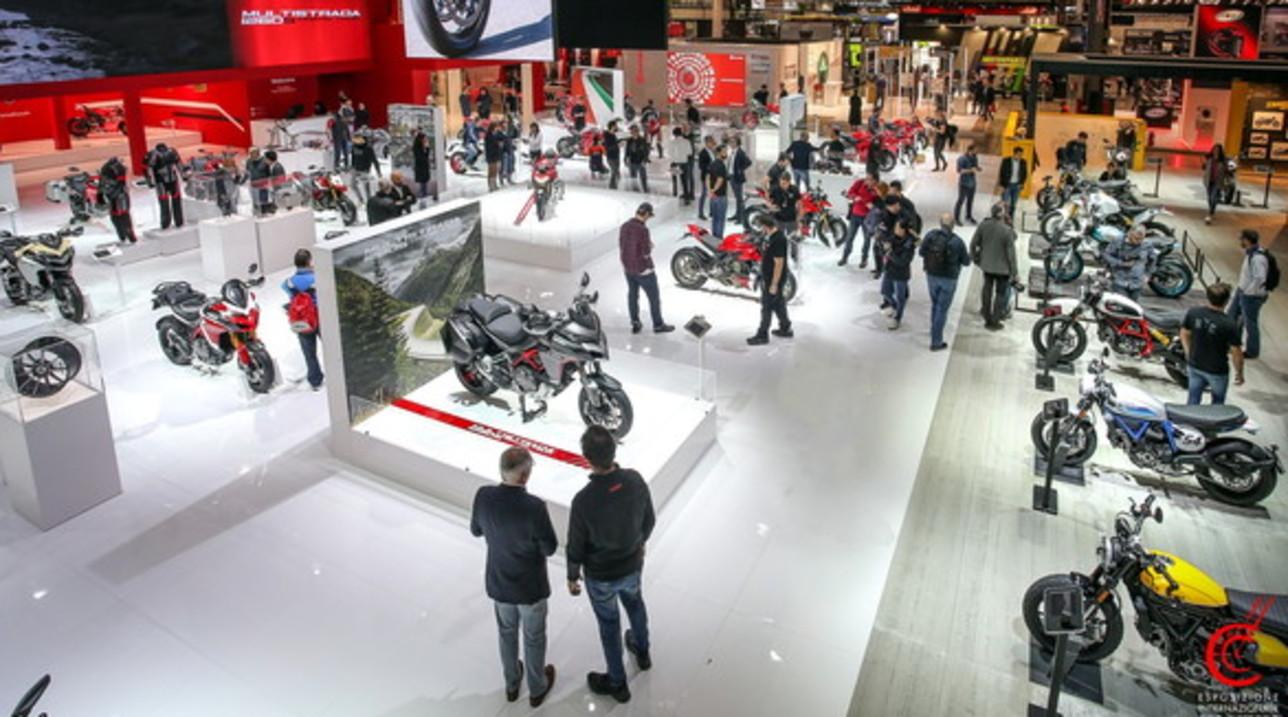 Ducati star della 77° edizione di Eicma
