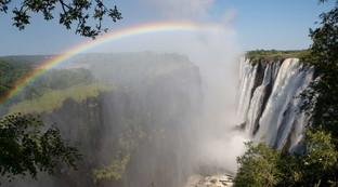 La maestosità della cascate Vittoria