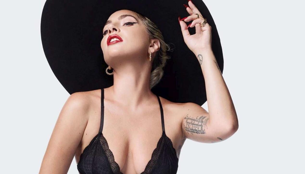"""Lady Gaga splendida su """"Elle"""""""