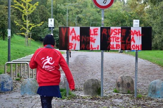 Milano, imbrattato con vernice rossa il Giardino dei Giusti