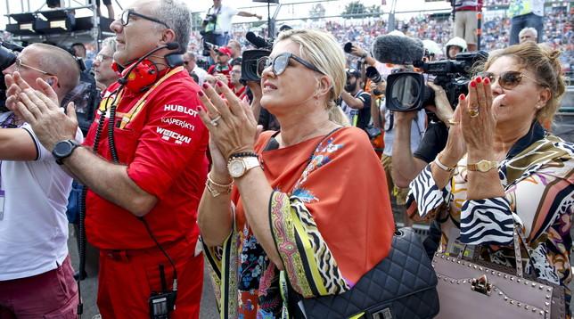 """Corinna Schumacher: """"Grazie Michael per quello che ho"""""""