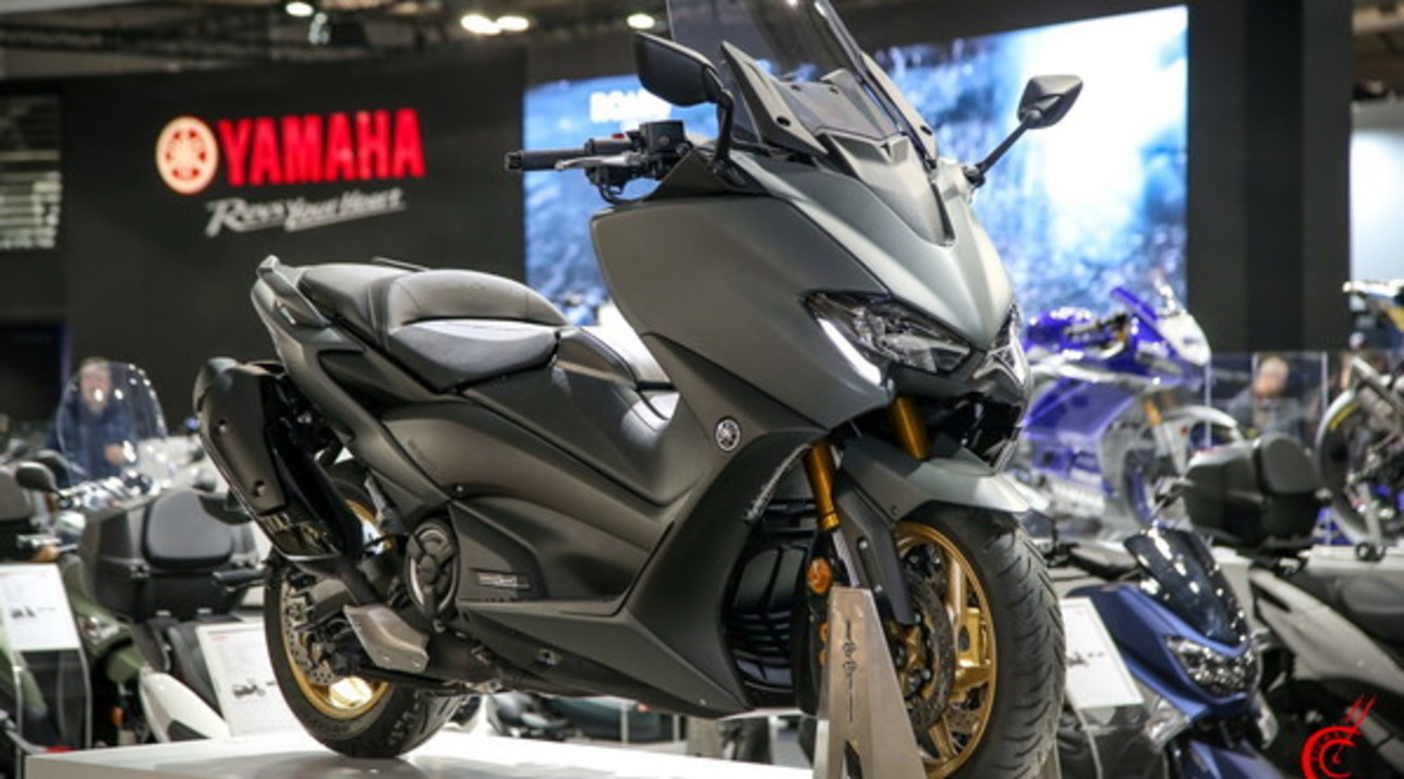 Yamaha, Offensiva Scooter Con TMAX 2020 E Tricity 300