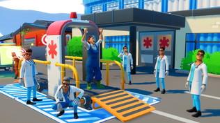 Tra barelle e corse in ambulanza, un videogioco per aspiranti paramedici