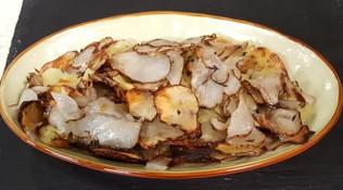 Patate al forno e topinambur