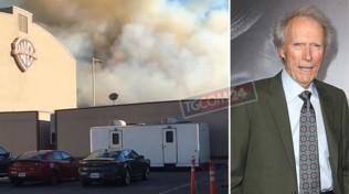 Hollywood brucia ma Clint Eastwood non abbandona gli Studios: