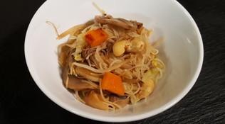 Spaghetti di riso alle verdure