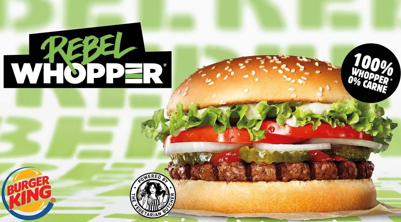 Burger King®: 100% Whopper®, 0% Carne