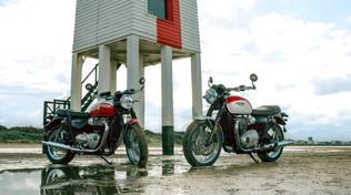Triumph e l'esclusività di Bonneville e Bobber TFC