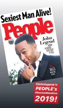 John Legend è l'uomo più sexy del pianeta